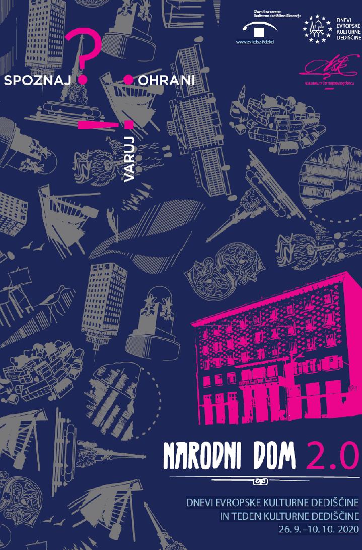 Plakat: Narodni dom 2.0.