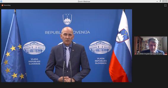 predsednik vlade rs Janez Janša