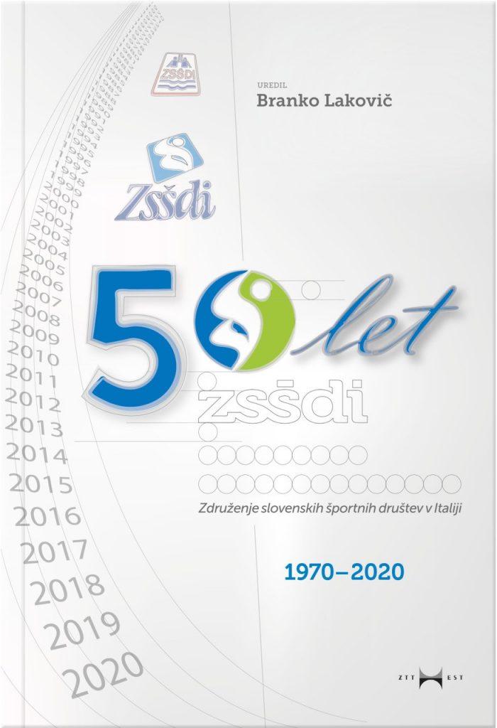 Naslovnica knjige 50 let zsšdi