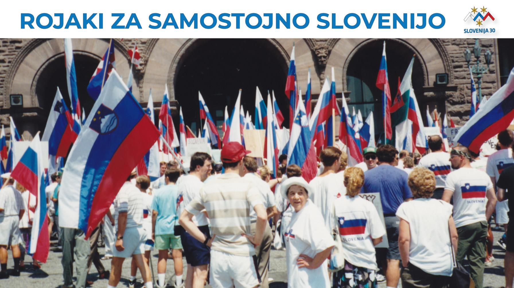 Rojaki za samostojno Slovenijo