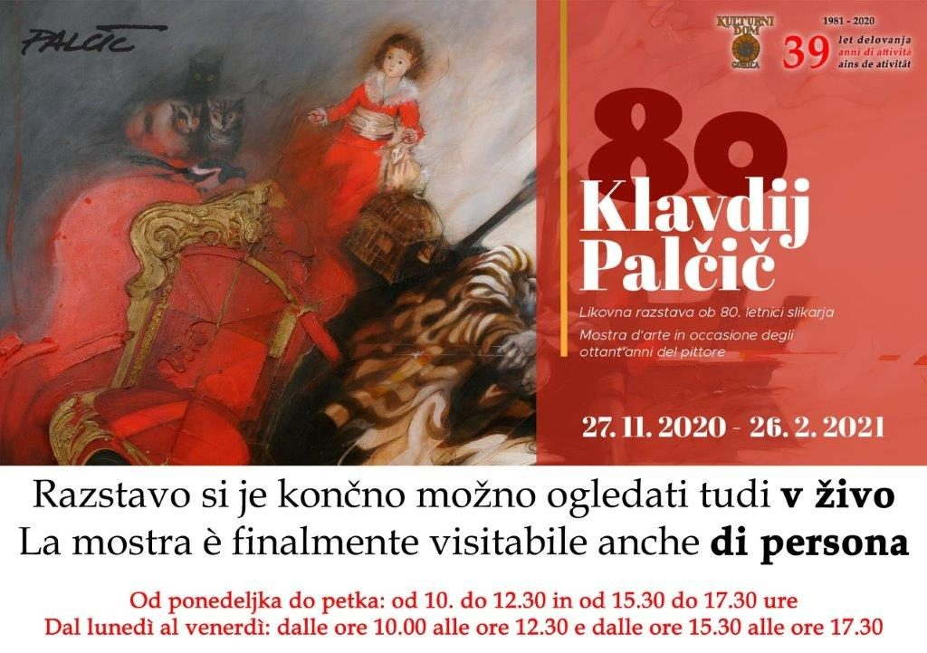 Vabilo Klavdij Palcic