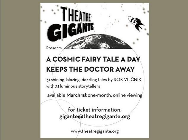 Pripovedovalski projekt Theatra Gigante z zgodbami Roka Vilčnika