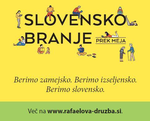 Slovensko branje prek meja - banner