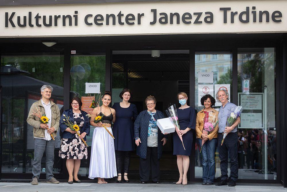 Prva razstava venezuelskega para Briceño in Voglar kot zahvala Sloveniji