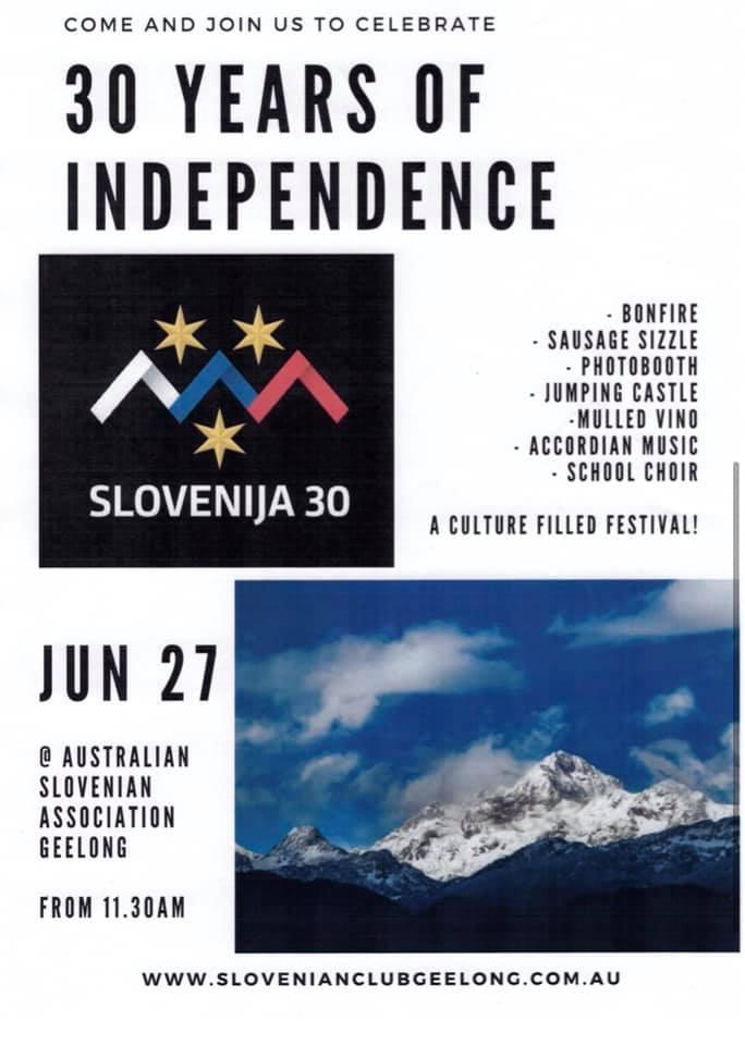 Australian Slovenian Association Geelong- Ivan Cankar letak