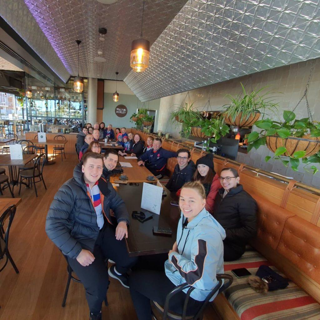 Člani društva triglav in slovensko avstralske skupnosti