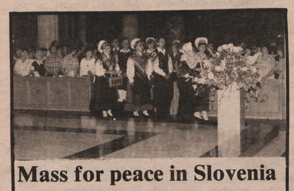 maša leta 1991 v ZDA