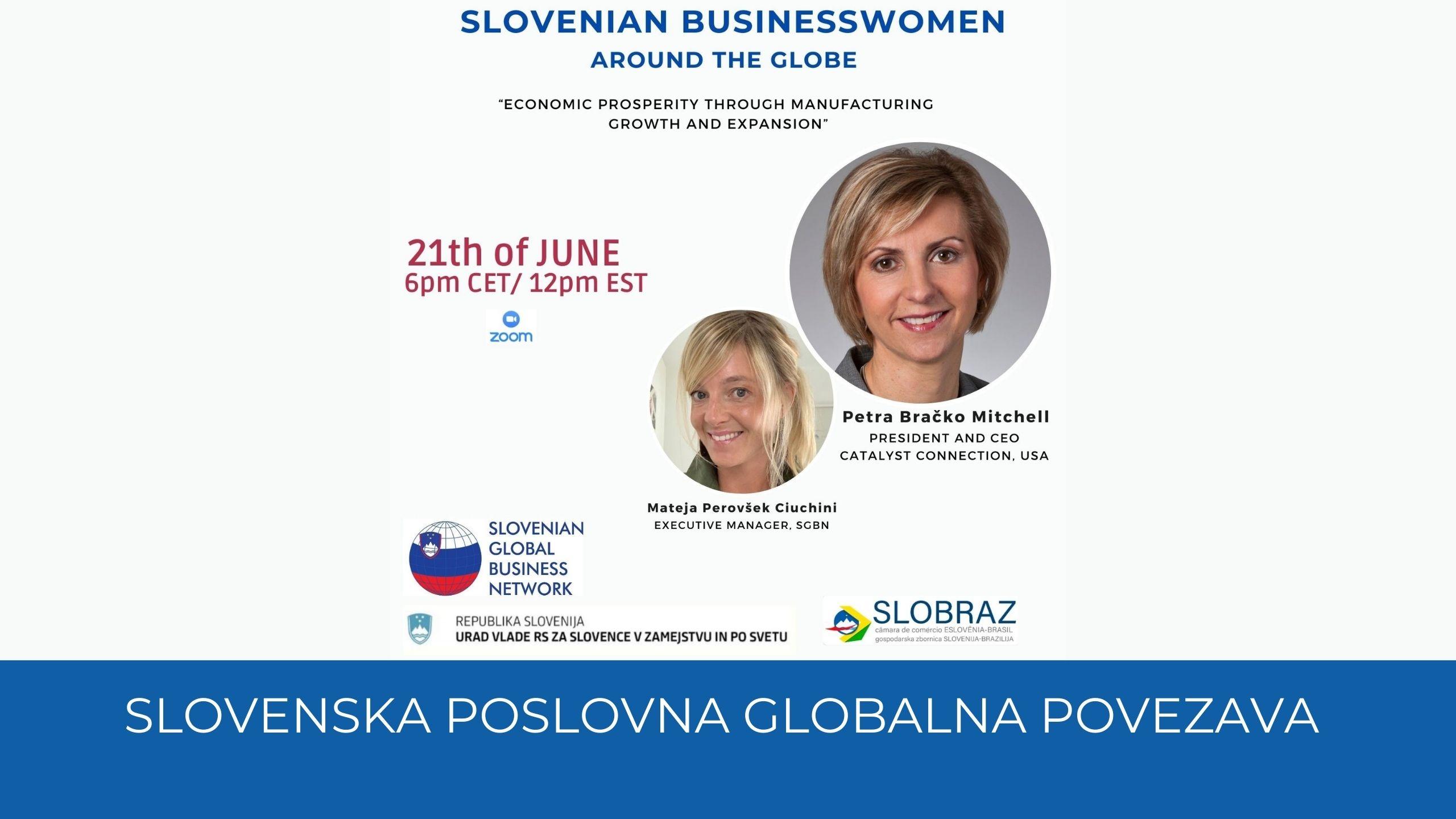 Vabilo SLOVENSKA POSLOVNA GLOBALNA POVEZAVA